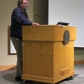 """PUARL 2018 -- Plenary by Wolfgang Stark on """"Refugees and the City"""".  (Portland Urban Architecture Research Lab International Conference, NW Couch Street, Portland, Oregon) 20181027"""