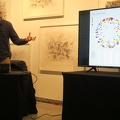 Onsite Gallery -- Measuring and Being @pete5000 lecture, visiting from London while @ONSITEatOCADU had programmed Diagrams of Power exhibition. Quantified Self now records statistics digitally, the data assemblage can reinforce a belief system, or be a critical visualization of unexamined ways of thinking. Historically, this goes back to industrialization, when clocks also changed perceptions of time. This talk may evolve on the way to publication as a book chapter. (Onsite Gallery, OCADU, Richmond Street, Toronto, Ontario) 20180920