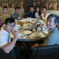 Congee Queen -- Family from Vancouver visiting in town, so got generations together for lunch to catch up on news.  Restaurant name underscopes the extent of the menu, as the table filled up with food.  Hungry sons, no leftovers.  (Congee Queen, Agincourt Mall, Scarborough, Ontario) 20180806
