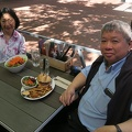 MeeT At Gastown -- Managing to adhere to a vegan prescription with the pea-based Beyond Burger veggie patty, although the kaiser bun and french fries aren't on the Portfolio Diet or Eco-Atkins Diet.  Enjoying western style food in the clean BC air with greater spring weather, after 10 days in China.  (MeeT at Gastown, Water Street, Vancouver, BC) 20180426