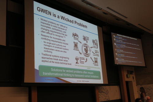 Diana Mann, Gwen Wicked Problem
