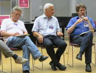 Purplsoc: panel with Hajo Neis, Helmut Leitner, Till Schummer