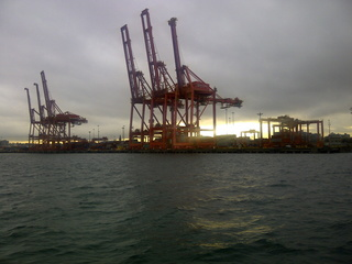 Container cranes, Port of Vancouver