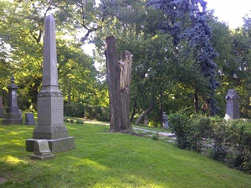 Toronto Necropolis Mary Watson 1869