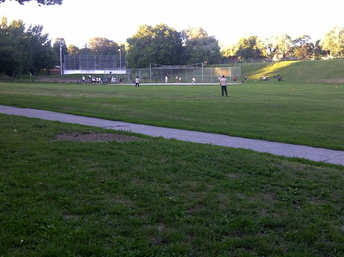 Withrow Park evening softball