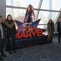 Scotiabank Theatre -- Scheduled family time to enjoy Imax screening of Captain Marvel.  RDI prebooked seats well back in the room, the screen is large that fast action would be even harder to follow when sitting up front.  Nostalgia for the 1990s seems to be rising, which feels familiar for us who remember the period first-hand.  (Scotiabank Theatre, Richmond Street West, Toronto, Ontario) 20190309