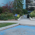 Jimmie Simpson Rec Centre -- Beautiful fall day for federal @ElectionsCan_E #elxn43 advance poll, #ItsOurVote in our neighbourhood #tordan.  Quick in-and-out, with poll clerks at door checking card, directing to small gym, waiting for just a few people in line, giving card and ID, getting ballot and marking off.  I prefer the big picture, and am unlikely to change my opinion before election day with crowds.  (Toronto-Danforth riding, Jimmie Simpson Recreation Centre, Queen Street East, Toronto, Ontario) 20191011