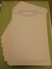 Queens Cafe (1950s) Gravenhurst
