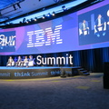 Think Summit 2019 -- Scaling trusted AI across the enterprise @pavelrahman #RichardHines @samiahmed #StephenKerrigan , #ThinkCanada @IBMCanada experiences at @AirCanada @BMO @kinrossgold.  Two emphases for the day are the deluge of data created every day, and the skills gap in labour projected to 2030.  Met some former colleagues, talked about the new generation in the company.  (Beanfield Centre, Princes Boulevard, Toronto, Ontario) 20191024