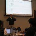 Microsoft Reactor Toronto -- Following notesbooks at Python for Data Science course @MSFTReactor @MaRSDD led by #DavidJeppesen @ProwessConsult.  Python indexes strings starting from 0, but then the last character is indexed as -1.  Full room said to be larger than last session.  Many university students attending, learners don't rest during school term breaks.  (Microsoft Reactor Toronto, MaRS Discovery District, Toronto, Ontario) 20191216