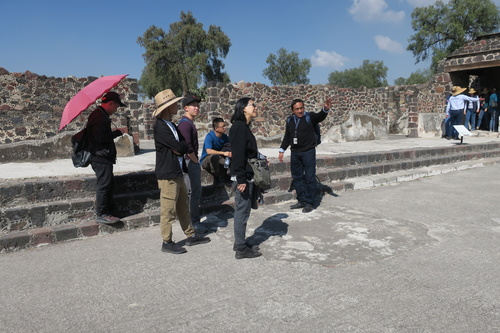 Palace of the Jaguars, Teotihuacan: