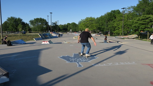 Ashbridges Bay Skateboard Park