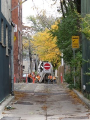 Logan Avenue, south of Queen Street East